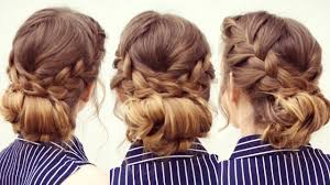French Braid Updo Hairstyles Braided French Braid Updo Updo Hairstyles Braidsandstyles12
