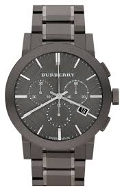 burberry large chronograph bracelet watch 42mm nordstrom