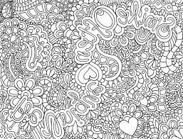 Small Picture Complex Coloring Pages for Teenagers Kids Colouring Pages