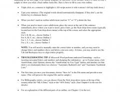 Word Research Paper Template Apa Outline Template Sample Format Example For Research