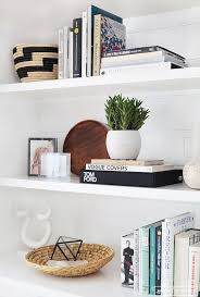 More styled shelves //Before and After : Client Freakin Fabulous//