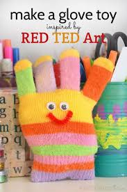 inspired by red ted art with a book review and links to crafts from the book