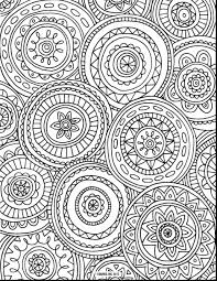 Abstract Coloring Pages For Adults Free Abstract Flowers Drawing 1