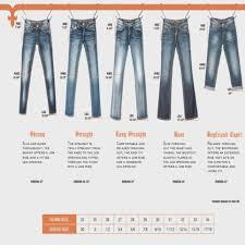 Vigoss Jeans Size Chart Best Picture Of Chart Anyimage Org