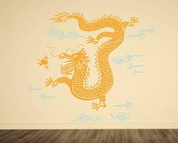 chinese dragon wall decal