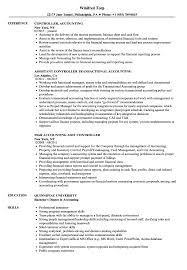 Accounting Controller Resume Samples Controller Accounting Resume Samples Velvet Jobs 20
