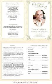 printable program templates free memorial service program template elegant funeral cards