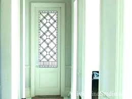 stained glass interior doors custom made wood windows stained glass interior doors kitchen door balcony partition