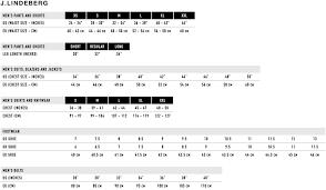 Skillful J Lindeberg Belt Size Chart 2019