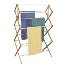 mega wood drying rack with vinyl dowels