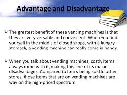 Benefits Of Vending Machines Simple Vending Machine Controller Using VHDL