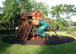 playground ideas for backyard Backyard, Rubber Mulch The