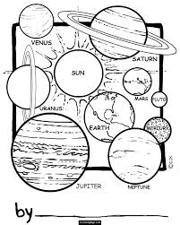 Universe Coloring Page Of Coloring Page Universe Universe Coloring