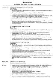It Infrastructure Engineer Resume Sample Cloud Infrastructure Engineer Resume Samples Velvet Jobs 7