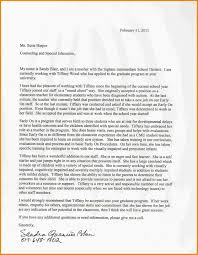 Recommendation Letter For Grad School 5 Grad School Recommendation Letter Format Pear Tree Digital