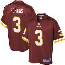 Dustin Burgundy Jersey Player Line Nfl Pro Redskins Hopkins Youth Washington