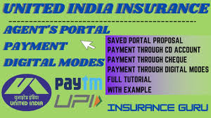Vehicle insurancecar insurance, two wheeler insurance and more. United India Renewal Details New Feature Uiic Portal Training Youtube