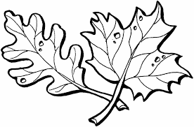 Small Picture Coloring Pages For Kids Leaves Autumn Printables Free Funny Fall