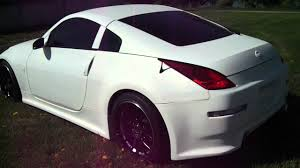 nissan 350z white custom. Contemporary Nissan 1 Of A Kind  Custom Nissan 350z With Flat White Paintand Gucci  Interiorcrazy  YouTube On Nissan White Custom 5