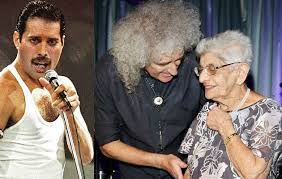Brian May pays tribute after Freddie Mercury's mother Jer Bulsara ...