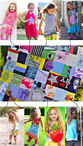 how to make a memory quilt from baby blankets clothes and t shirts