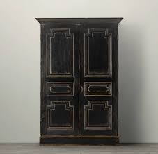 black painted furniturecurrent obsession paint it black  The Vintage Rug Shop The