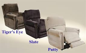 warner power headrest power lift chair lay flat recliner with dual motor and extended ottoman in slate fabric by catnapper 64862 s