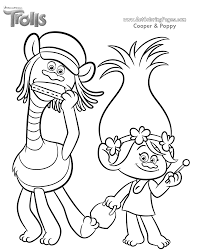 Small Picture DreamWorks Trolls Coloring Pages GetColoringPagescom