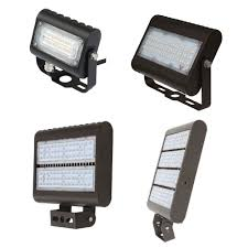 Exterior Led Flood Light Fixtures Led Outdoor Flood Light Fixtures For Area Parking And Landscape Lighting Choose Your Wattage And Mount