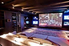 contemporary media room decorating arrangement idea. Images About Media Room On Pinterest Home Theaters Theatre And Theater Design. Small Bathroom Tiles Contemporary Decorating Arrangement Idea