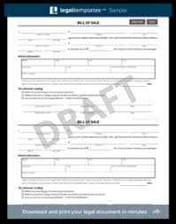 Free Illinois Bill Of Sale Form - Pdf Template | Legaltemplates
