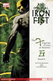 Immortal iron fist 12
