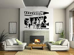 Home Decor Wall Art Stickers amazon com led zeppelin wall art