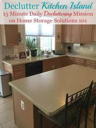 today s mission is to declutter your kitchen island and or to again revisit your kitchen countertops to make sure they are staying clutter free