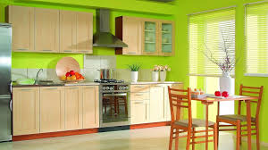 Kitchen:Marvelous Lime Green Decor For Kitchen Interior With Green Walls  And Oak Cabinets Lime