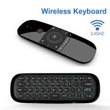 Mini Air Mouse W1 C120 Fly Air Mouse Wireless Keyboard For Android TV Box/PC /TV Smart TV Portable Mini 2.4G 0izf