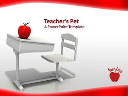 Teacher Powerpoint Teachers Pet A Powerpoint Template From Presentermedia Com