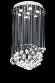 gallery of modern chandelier rain drop lighting crystal ball fixture pendant outstanding chandeliers 8