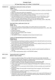 Resume Model For Experience Candidate Research Scholar Resume Samples Velvet Jobs