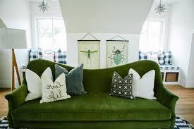 ... Hunter Green Sofa Best Velvet Couch