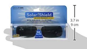Solar Shield Size Chart Solar Shield Fits Over Polar Tx Lens Gray Ultralight Frame 56 Rec 15