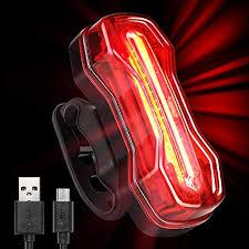 Useful 120lm <b>Bike Cycling</b> COB Rear/<b>Tail Light USB Recharge</b> ...
