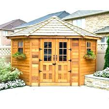 Garden shed office Portable Insulated Shed Ed Garden Shed Office Splendid Corner Penthouse Cedar Sheds For Sale Ed Garden Room Sheds Dailydistillery Insulated Shed Ed Garden Shed Office Splendid Corner Penthouse Cedar