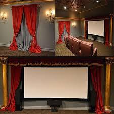 luxury high quality heavy red cotton velvet curtain single panel 84 long custom recording studio sound deadening energy efficient thermal