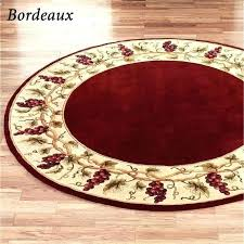 9 ft round rug foot area rugs large circle navy blue roun