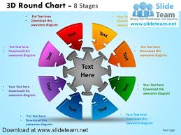 smartart powerpoint templates 3 d interconnected circular puzzle pieces 8 stages powerpoint diagra