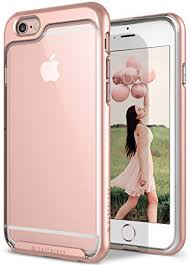 apple iphone 6s rose gold. caseology skyfall series iphone 6s cover case with clear slim protective for apple ( iphone 6s rose gold c