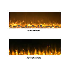northwest electric fireplace luxury electric led fireplace wall mounted 13 backlight colors 10 flame