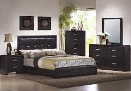 modern black bedroom furniture. Projects Design Cheap Black Bedroom Furniture Unique Modern Dresser Comes With Leather Double Bed And Wooden