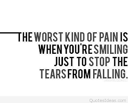 quote about sad pain image